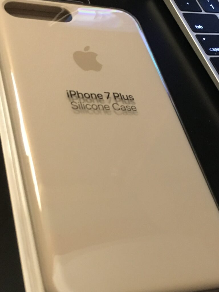 iPhone 7 case in package