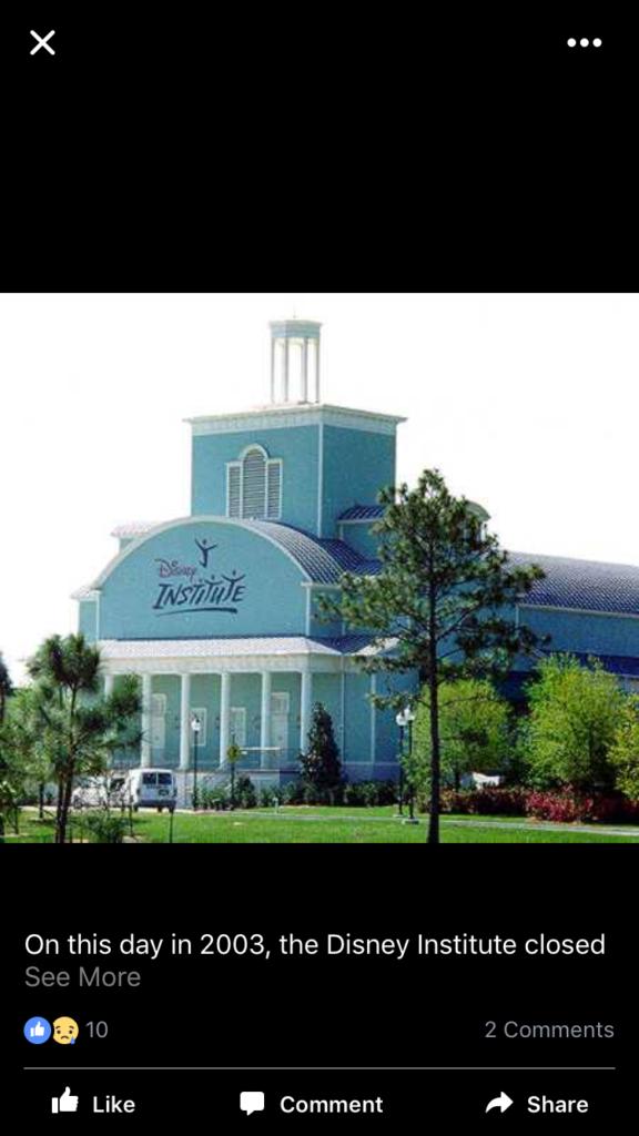 Disney Institute Performance Center
