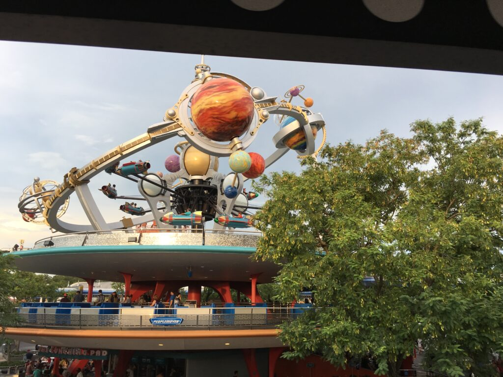 Magic Kingdom's Tomorrowland