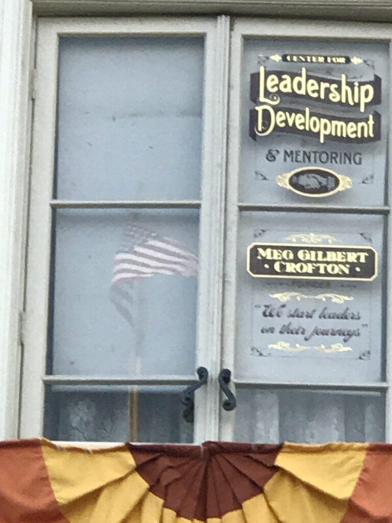 Meg Crofton Main Street window
