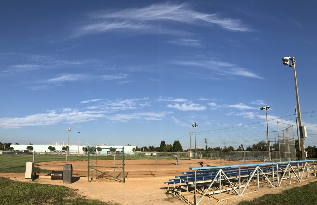 Disney World softball field