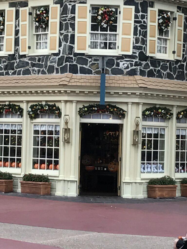 Ye Olde Christmas Shoppe Magic Kingdom