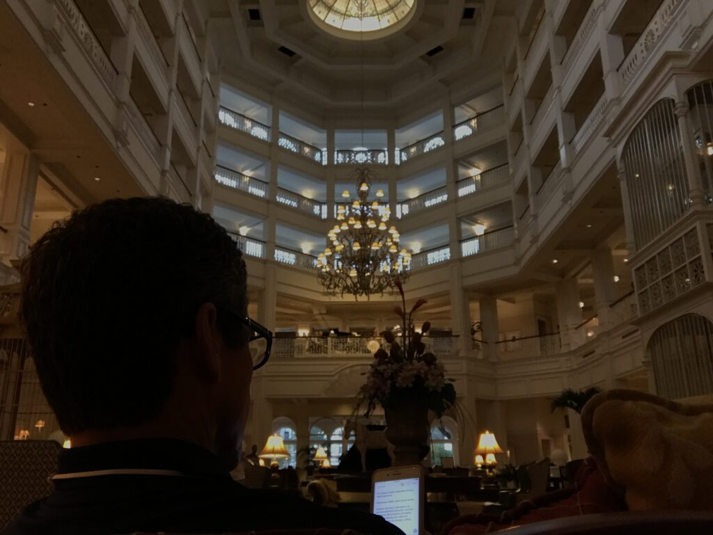 Day 14: Disney's Grand Floridian Resort and Spa lobby