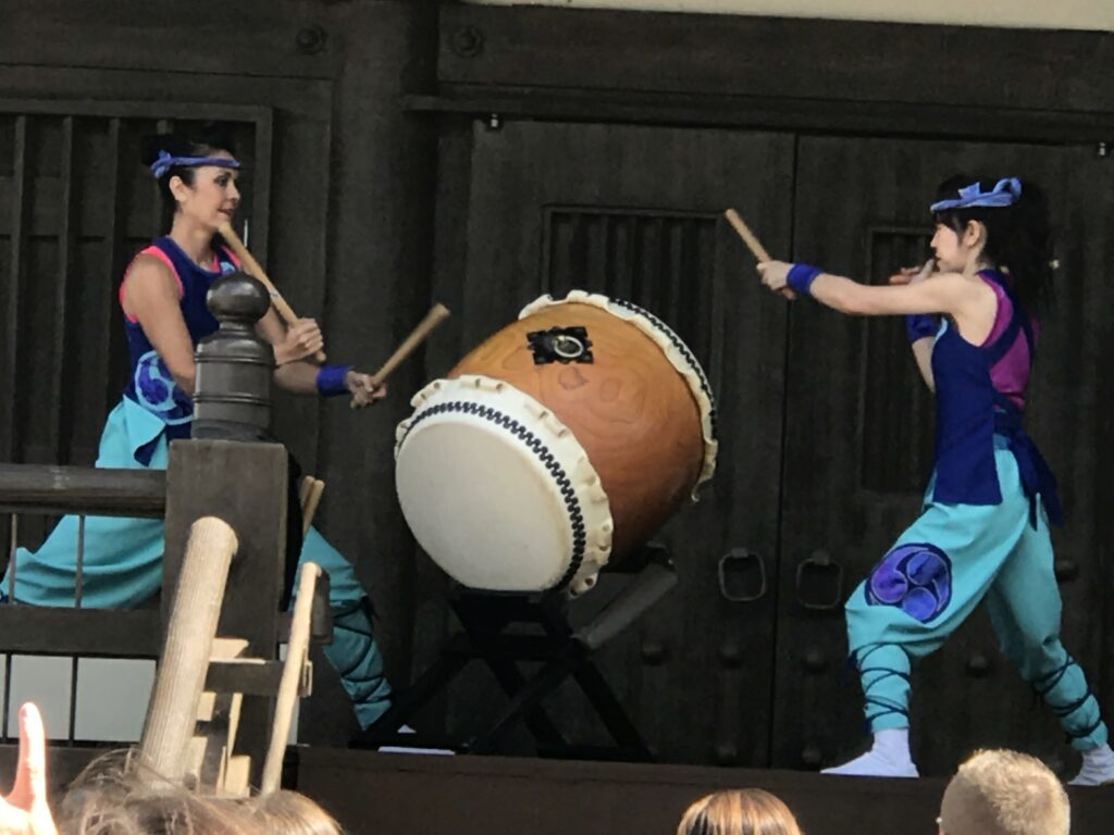Japanese drummers at Epcot