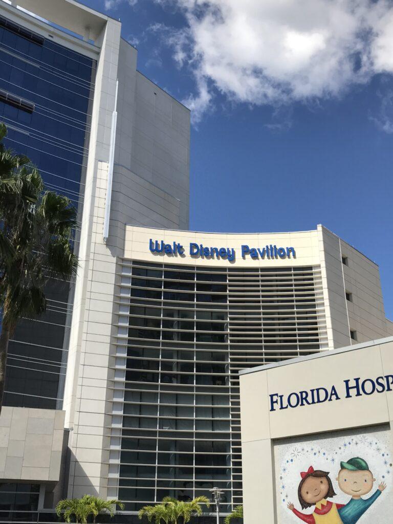 The Walt Disney pavilion at Advent health hospital