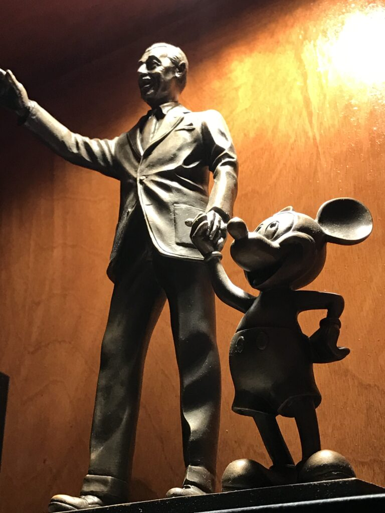 Disney's Partner's In Excellence award statue