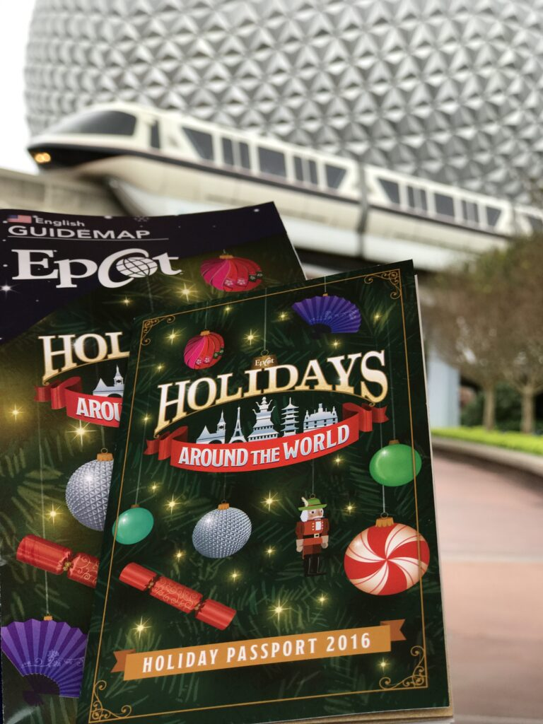 Disney Holiday Passport, 2016