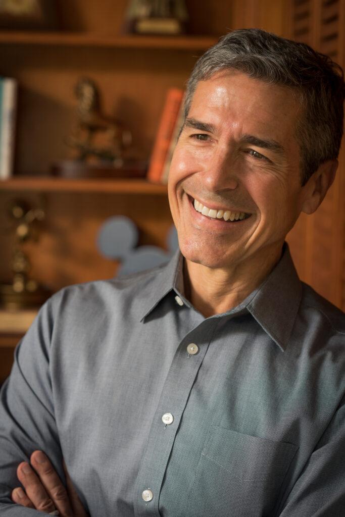 Disney Keynote Speaker Jeff Noel in his office